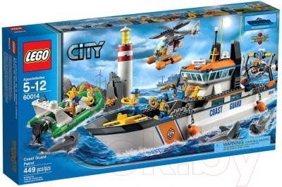Конструктор Lego City Патруль береговой охраны 60014 - упаковка