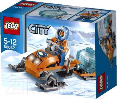 Конструктор Lego City Арктический снегоход 60032 - упаковка