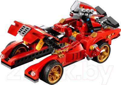 Конструктор Lego Ninjago Ниндзя-перехватчик Х-1 70727 - общий вид