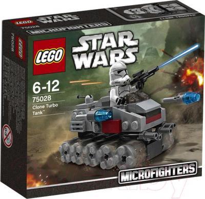 Конструктор Lego Star Wars Турбо танк клонов 75028 - упаковка