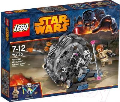Конструктор Lego Star Wars Машина генерала Гривуса 75040 - упаковка
