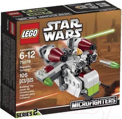Конструктор Lego Star Wars Республиканский истребитель 75076 - упаковка