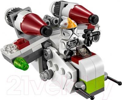 Конструктор Lego Star Wars Республиканский истребитель 75076 - общий вид