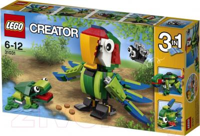 Конструктор Lego Creator Животные джунглей 31031 - упаковка