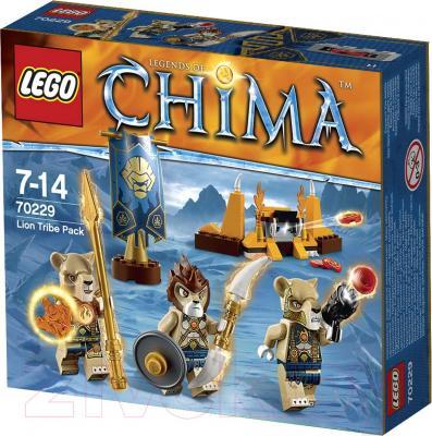 Конструктор Lego Chima Лагерь Клана Львов 70229 - упаковка