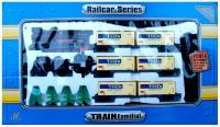 Железная дорога детская Fenfa Товарный поезд (1601A-3CK) -