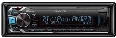 Бездисковая автомагнитола Kenwood KMM-303BT