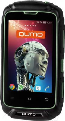 Смартфон Qumo Defender (черный)