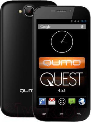 Смартфон Qumo Quest 453 - с задней панелью