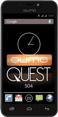 Смартфон Qumo Quest 504 - общий вид