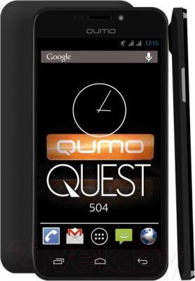 Смартфон Qumo Quest 504 - с задней и боковой панелями