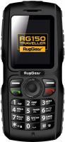 Мобильный телефон RugGear Traveller RG150 (черный) -
