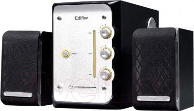 Мультимедиа акустика Edifier E3100 (черно-серебристый) - общий вид