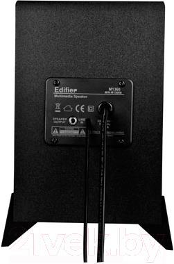 Мультимедиа акустика Edifier M1360 (черный) - вид сзади