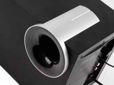 Мультимедиа акустика Edifier M1380 (черный) - крупный план