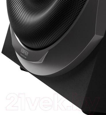 Мультимедиа акустика Edifier S760D (черный) - крупный план