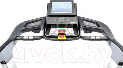 Электрическая беговая дорожка KETTLER Track 9 / 7885-650 - панель управления с вариантом крепления планшета