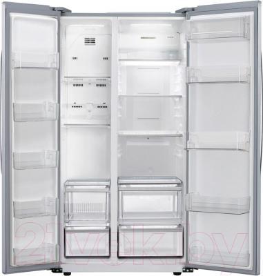 Холодильник с морозильником LG GC-B207GMQV - внутренний вид