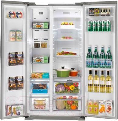 Холодильник с морозильником LG GC-B207GMQV - камеры хранения
