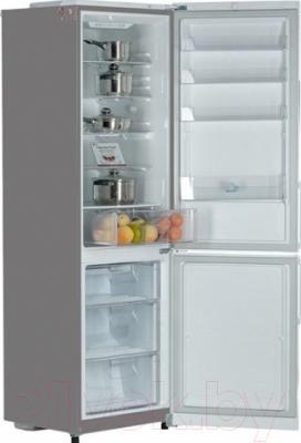 Холодильник с морозильником LG GA-B409SMCA