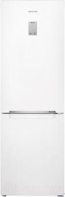 Холодильник с морозильником Samsung RB33J3400WW/WT - общий вид