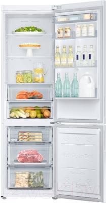 Холодильник с морозильником Samsung RB37J5200WW/WT