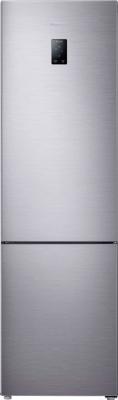 Холодильник с морозильником Samsung RB37J5240SS/WT - вид спереди