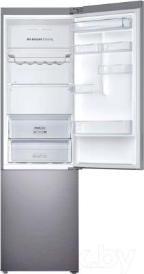 Холодильник с морозильником Samsung RB37J5240SS/WT - внутренний вид
