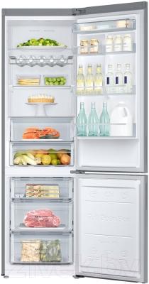 Холодильник с морозильником Samsung RB37J5240SS/WT - камеры хранения