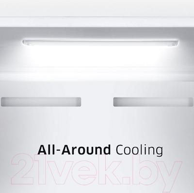 Холодильник с морозильником Samsung RB37J5250SS/WT