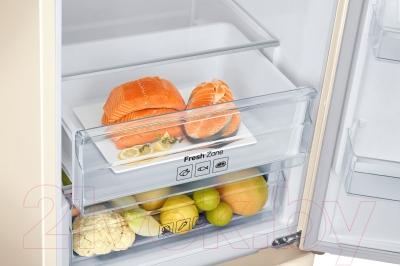 Холодильник с морозильником Samsung RB37J5271EF/WT - зона свежести