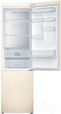 Холодильник с морозильником Samsung RB37J5271EF/WT - внутренний вид