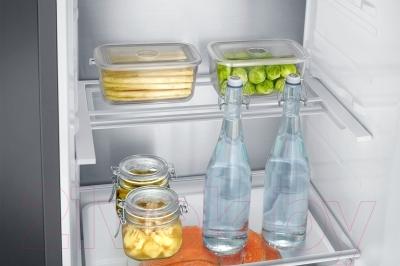 Холодильник с морозильником Samsung RB37J5271SS/WT