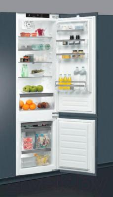 Холодильник с морозильником Whirlpool ART 9810/A+ - встроенный в кухонный гарнитур