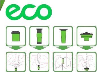Фонтанный насос Eco GF-05F - фонтанные насадки