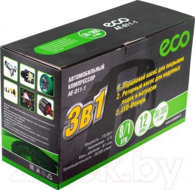 Автомобильный компрессор Eco AE-011-1 - упаковка