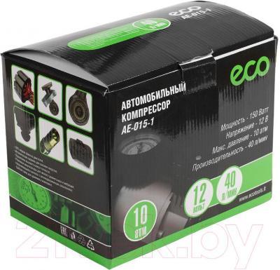 Автомобильный компрессор Eco AE-015-1 - упаковка