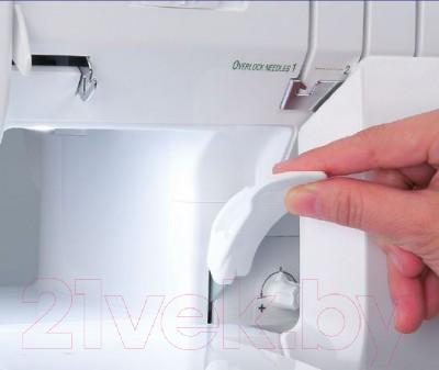 Коверлок Baby Lock Ovation BLES8 - подъем лапки