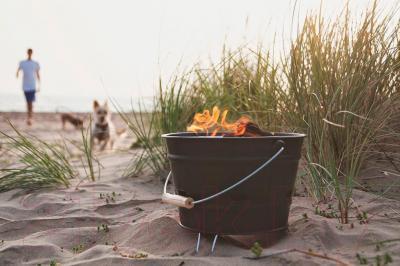 Гриль-барбекю BBQ Ashby Garden - в использовании