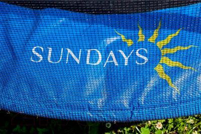 Батут Sundays Комплект D374 MOD2 (с сеткой) - фото для ознакомления (внешний вид товара может не соответствовать реальному)