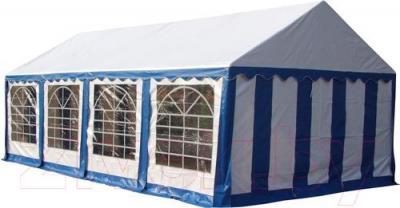 Тент-шатер Sundays P48201 (белый с синим) - общий вид