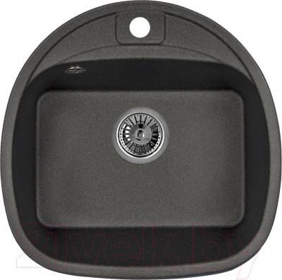 Мойка кухонная Granula GR-5050 (черный) - общий вид