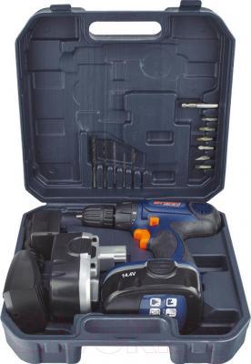 Аккумуляторная дрель-шуруповерт Stern Austria CD06-144В - комплектация