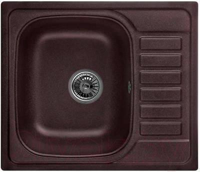 Мойка кухонная Granula GR-5801 (шоколад) - общий вид