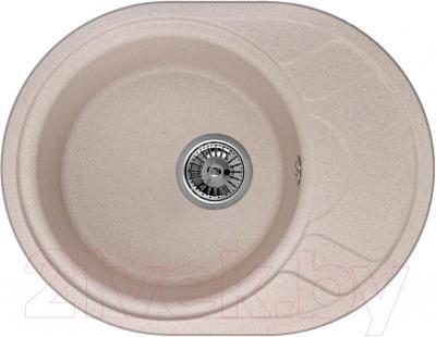 Мойка кухонная Granula GR-5802 (песочный) - общий вид