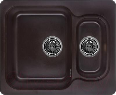 Мойка кухонная Granula GR-6151 (шоколад) - общий вид