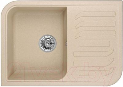 Мойка кухонная Granula GR-7001 (песочный) - общий вид
