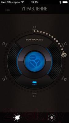 Капельная кофеварка Redmond SkyCoffee RCM-M1505S - интерфейс приложения