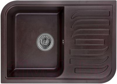 Мойка кухонная Granula GR-7001 (шоколад) - общий вид