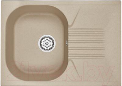 Мойка кухонная Granula GR-7002 (песочный)